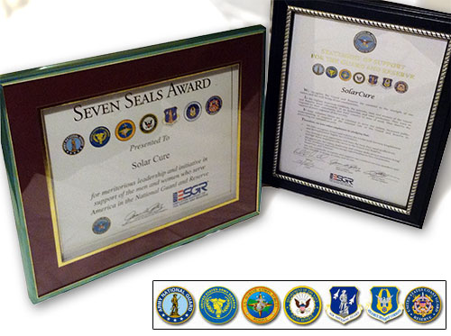 Seven Seals Award for SolarCure
